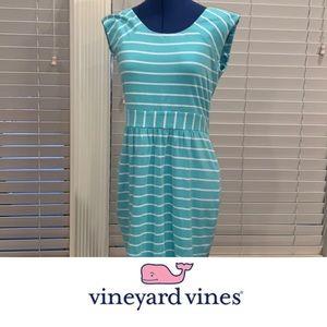 Vineyard Vines 🐳 Reef Stripe Dress, Small